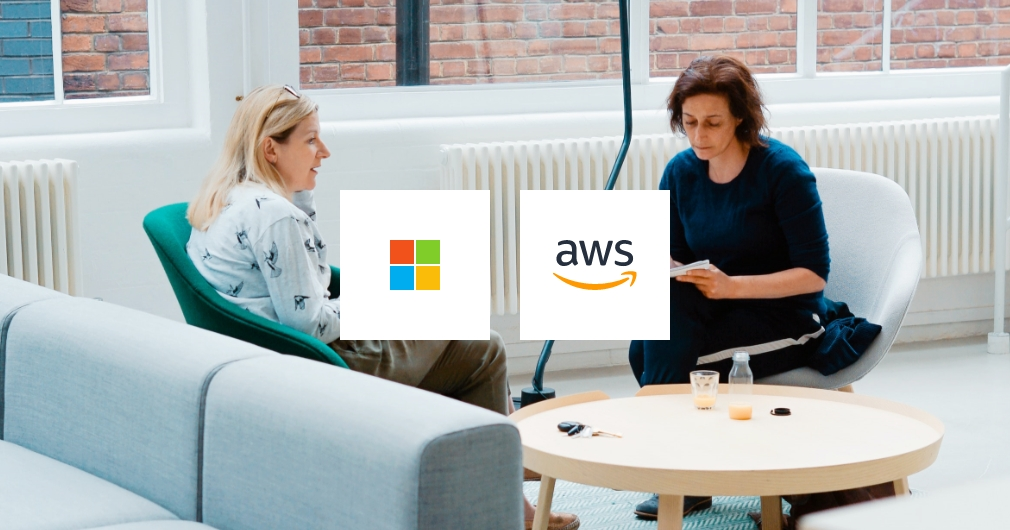 Microsoft Azure or Amazon Web Services (AWS)